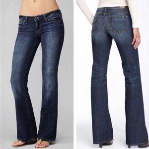 Paige Laurel Canyon Petite Jeans denim dark wash